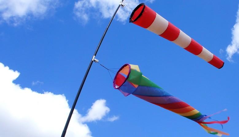 Manche à air et turbine
