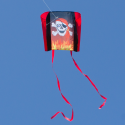 Cerf-volant Sled Beach Kite Pirate