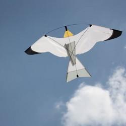 Cerf-volant oiseau blanc