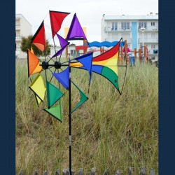 Girouette Windmill Illusion