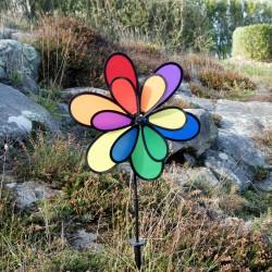 Girouette Fleur 2D