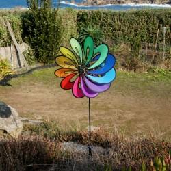 Girouette Fleur 12 pétales