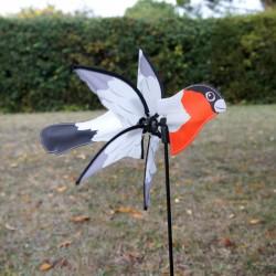 Girouette Oiseau Bouvreuil