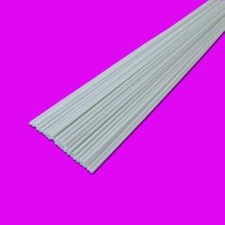 Jonc fibre de verre blanche 3 mm