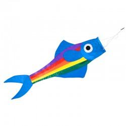 Manche à air Poisson bleu 90 cm