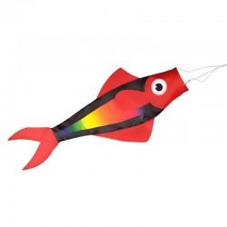 Manche à air Poisson Rouge 90 cm