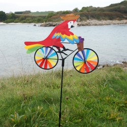 Girouette Perroquet Vélo